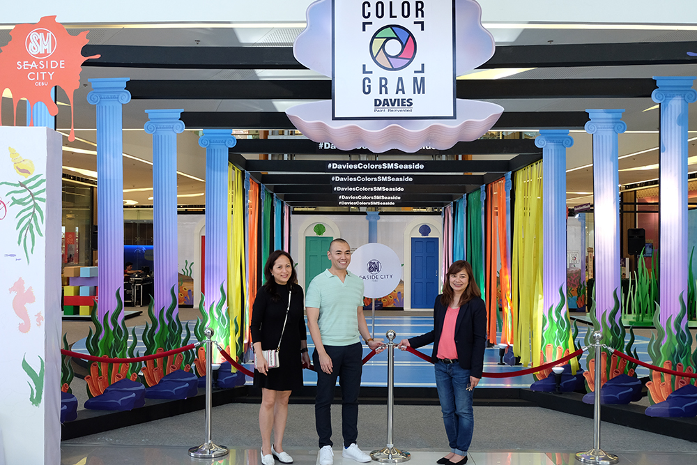 Davies Paints opens Colorgram Paint Park at SM Seaside City Cebu